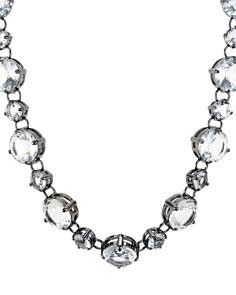 "AQUA - Crystal Statement Necklace, 16"" - 100% Exclusive"