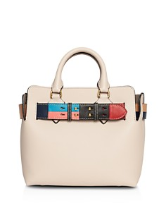 Burberry - Small Leather Color Block Detail Belt Bag