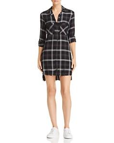 Bella Dahl - Frayed Step-Hem Shirt Dress