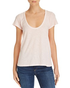 rag & bone/JEAN - Scoop-Neck Tee