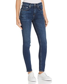 rag & bone/JEAN - High-Rise Skinny Jeans in Elton