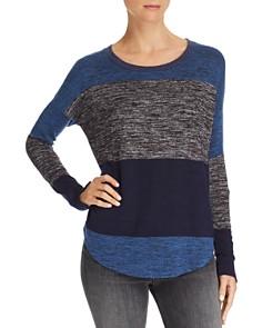 rag & bone/JEAN - Hudson Striped Long Sleeve Sweater