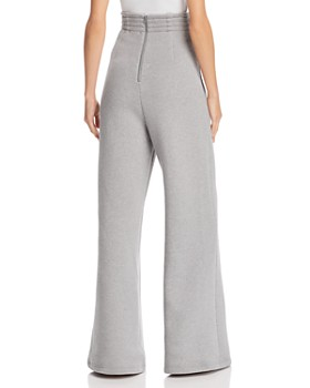 T by Alexander Wang - French Terry High-Waist Jogger Pants