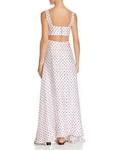 Bec & Bridge - Little Cuba Dotted-Silk Maxi Dress