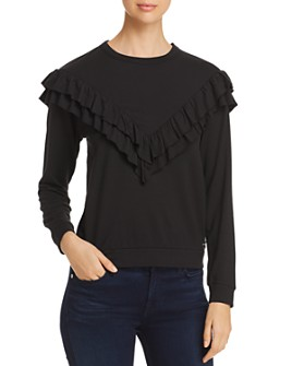Marc New York - Ruffle Trim Top