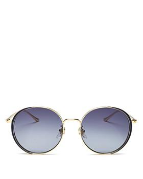 Gucci - Women's Oversized Round Sunglasses, 56mm