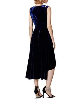 KAREN MILLEN - Velvet Belted Dress