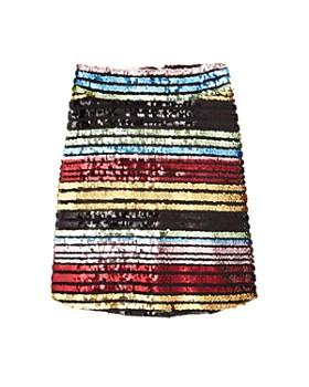 dd0895b27a7 Miss Behave - Girls  Sarah Rainbow Sequin Skirt - Big Kid ...