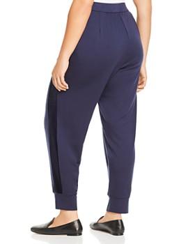 Eileen Fisher Plus - Velvet Stripe Jogger Pants