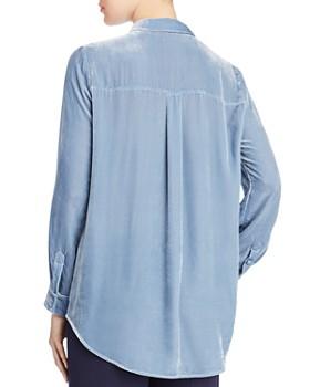 Eileen Fisher Petites - Classic Velvet Shirt