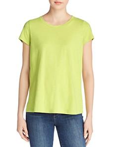 Eileen Fisher Petites - Organic Cotton Slub-Knit Tee