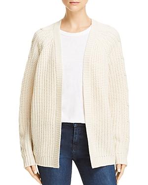 Aqua Textured Cable Knit Cardigan - 100% Exclusive