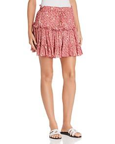 Poupette St. Barth - Clara Ruffled Mini Skirt - 100% Exclusive