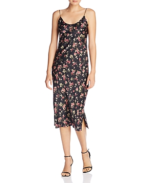 Cami Nyc Raven Floral-Print Silk Slip Dress