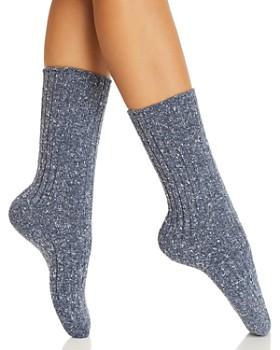 HUE - Ribbed Smart Temp Boot Socks