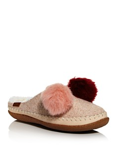 TOMS - Women's Ivy Pom Pom Slippers