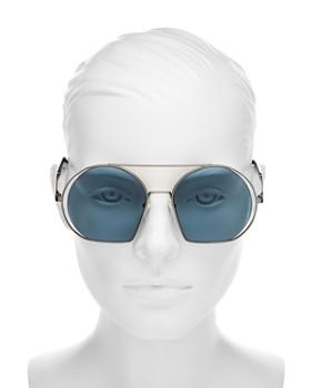 MARC JACOBS - Women's Brow Bar Round Sunglasses, 56mm