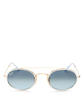 Ray-Ban - Women's Brow Bar Round Sunglasses, 52mm
