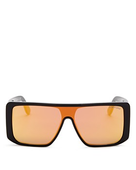 Tom Ford - Women's Injected Flat Top Shield Sunglasses, 140mm
