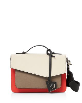 Cobble Hill Colorblock Leather Crossbody by Botkier