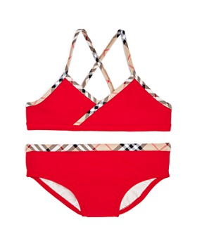 554bd0b38ccd Burberry - Girls  Crosby 2-Piece Swimsuit - Little Kid