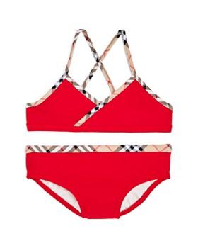 d7124d93ca7c1 Burberry - Girls  Crosby 2-Piece Swimsuit - Little Kid