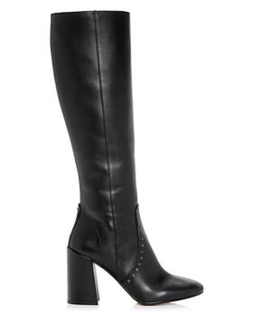 COACH - Women's Falon High Block-Heel Boots