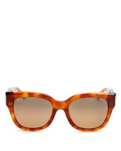 Maui Jim - Women's Siren Song Polarized Cat Eye Sunglasses, 54mm