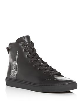 Bally - Men's Hercules x Funk Leather High-Top Sneakers