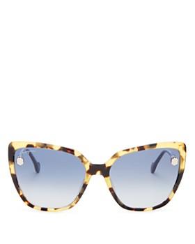 5c8f4eac651 Salvatore Ferragamo - Women s Fiore Cat Eye Sunglasses