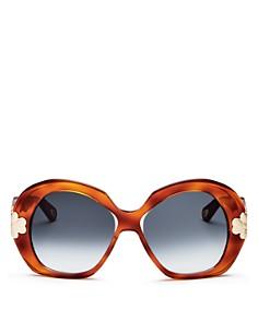 Chloé - Women's Round Sunglasses, 54mm