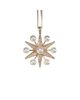 Joanna Buchanan - Space Faux Pearl Star Ornament