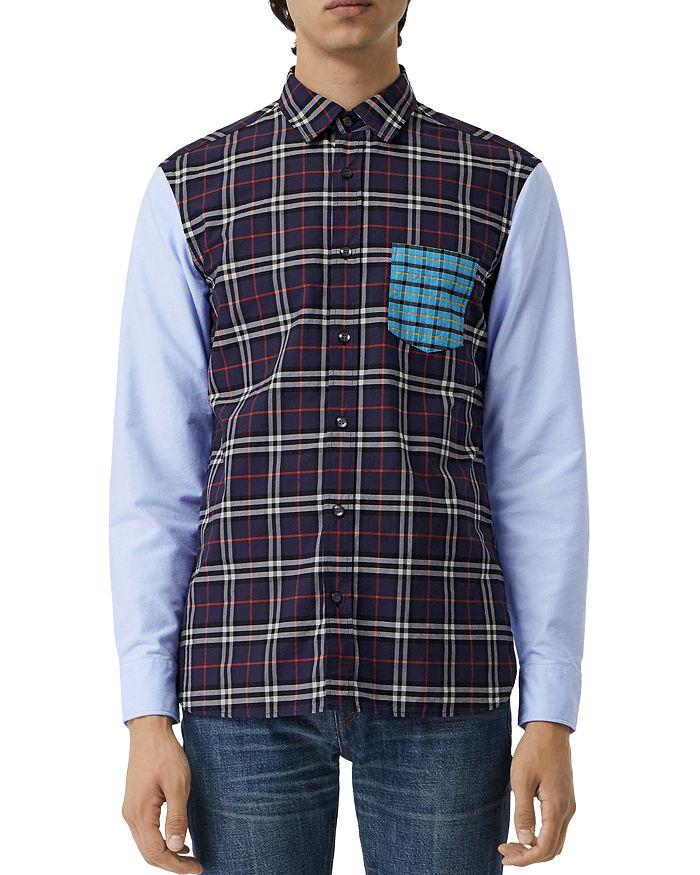 Burberry - Edward Patchwork Regular Fit Shirt