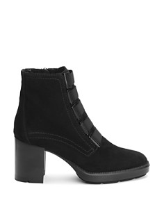 Aquatalia - Women's Indira Round Toe Buckled Booties