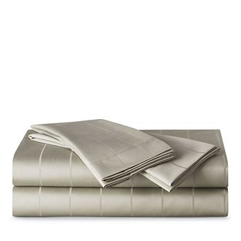 Highline Bedding Co. - Sullivan Pinstripe Sheet Set, California King