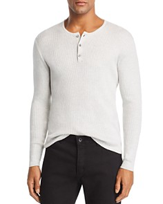 John Varvatos Star USA - Ribbed Henley