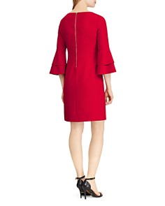 Ralph Lauren - Bell-Sleeve Crepe Dress