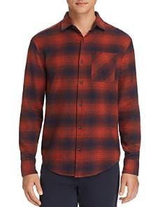 Original Penguin - Plaid Flannel Regular Fit Shirt - 100% Exclusive