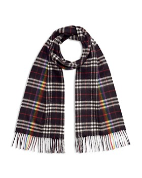 fd0753143486 Burberry - Rainbow Plaid Cashmere Scarf ...