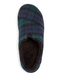 TOMS - Men's Berkeley Plaid Slippers
