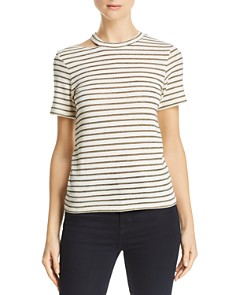 LNA - Ono Metallic-Stripe Tee