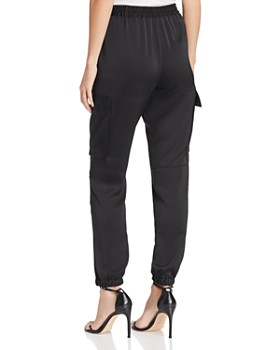 Kenneth Cole - Satin Cargo Jogger Pants