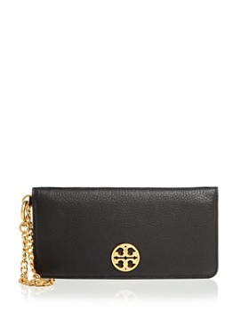 Tory Burch - Chelsea Pebbled Leather Wristlet