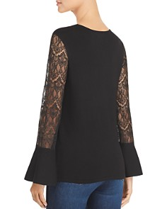 Design History - Lace-Sleeve Sweater