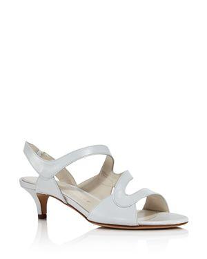 BETTYE MULLER Women'S Sandy Kitten Heel Sandals in White