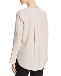 Go by Go Silk - Split Sleeve Blouse