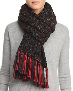 AQUA - Chunky Rib-Knit Scarf - 100% Exclusive