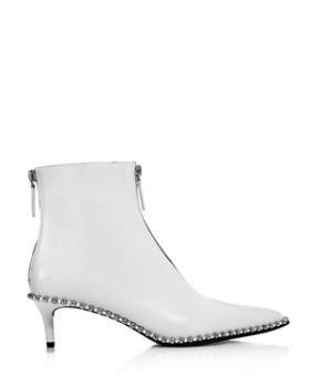Alexander Wang - Women's Eri Studded Kitten Heel Booties