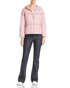 Moncler - Prague Ruffled Jacket & Denim Jeans