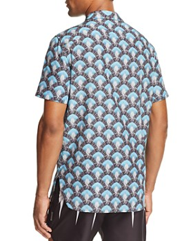 Neil Barrett - Travelers Palm-Print Regular Fit Shirt